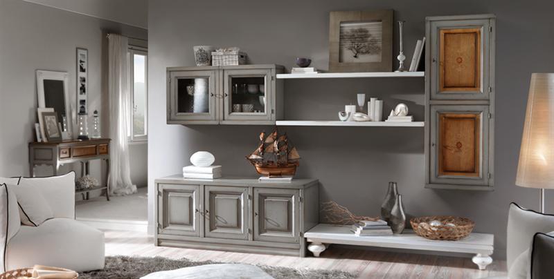 Il soggiorno perfetto elegante e funzionale arredo - Parete attrezzate classiche ...