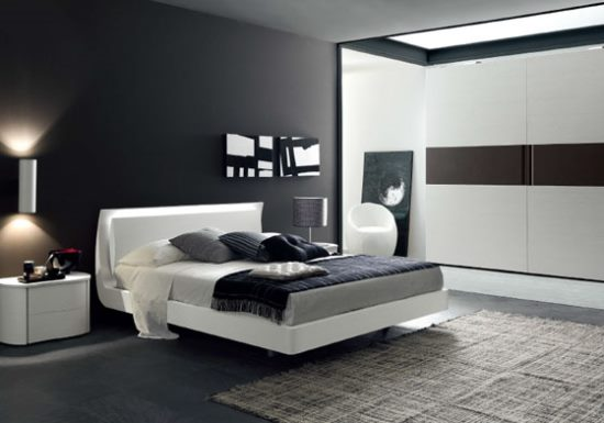 Camera Da Letto Moderna Con Boiserie on art moderne interior design