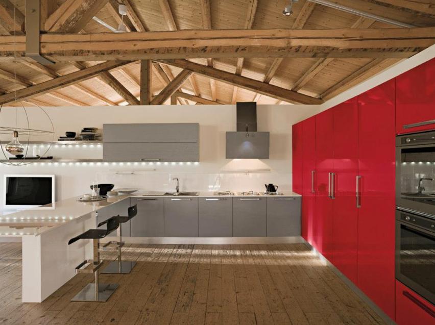 Novit cucine 2013 for Grandi piani domestici personalizzati