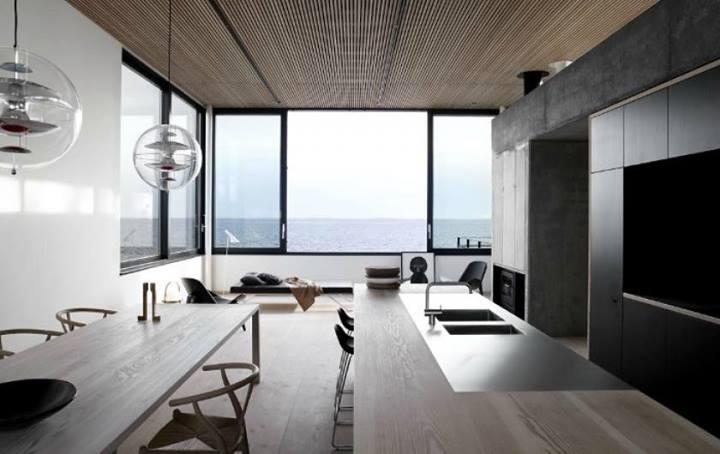 Gli stili contemporanei della sala da pranzo for Camera da pranzo contemporanea