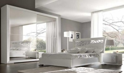 Arredare gli interni con il total white all insegna dell for Camera da letto total white