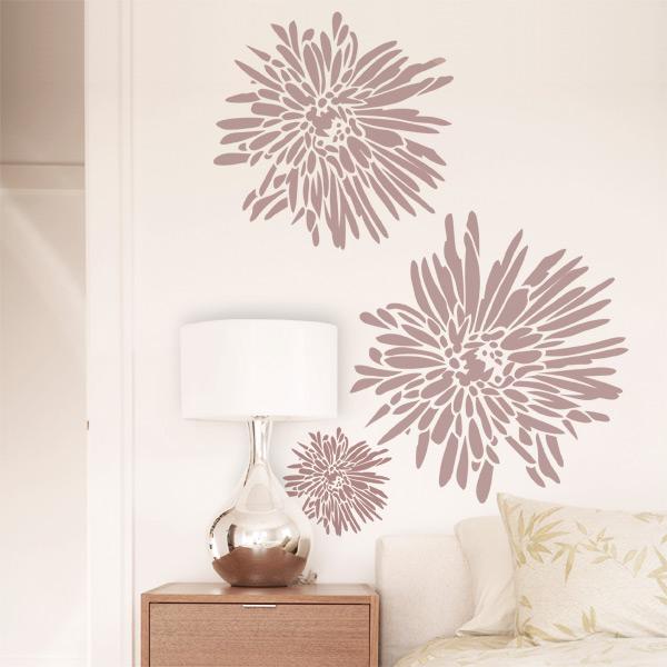 Decorare le pareti con gli sticker arredo - Disegni per pareti camera da letto ...