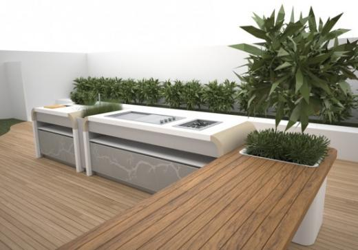 Cucine da esterno mobili modulari e compatte for Outdoor kitchen australia