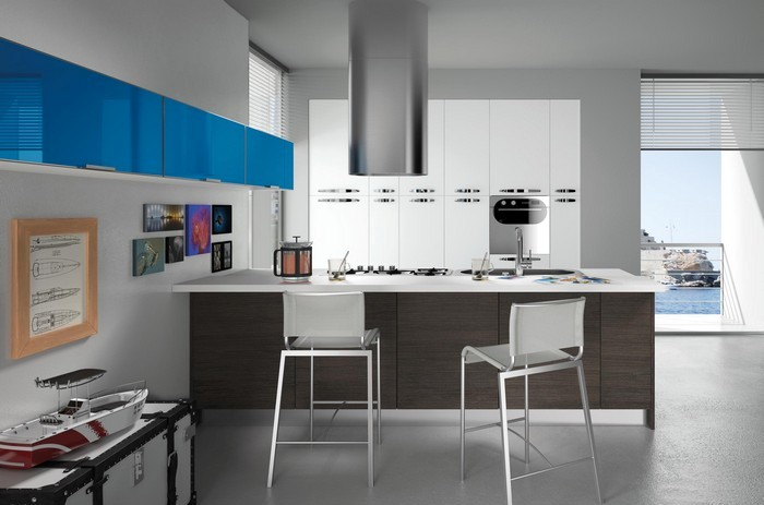 La penisola per valorizzare lo stile della cucina moderna for Tavolo penisola ikea