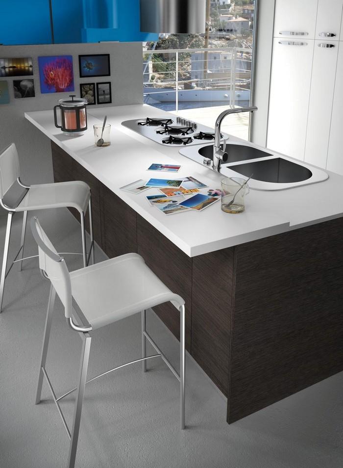 La penisola per valorizzare lo stile della cucina moderna - Penisola cucina moderna ...
