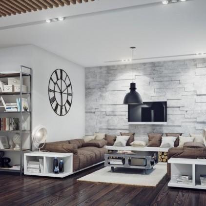 Idee per arredare il soggiorno con stile e design immagini for Idee per arredare il soggiorno foto