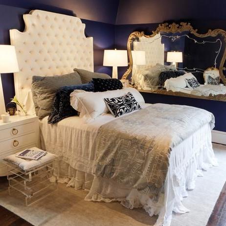 Idee per arredare o rinnovare la camera da letto con stile - Stanza da letto romantica ...
