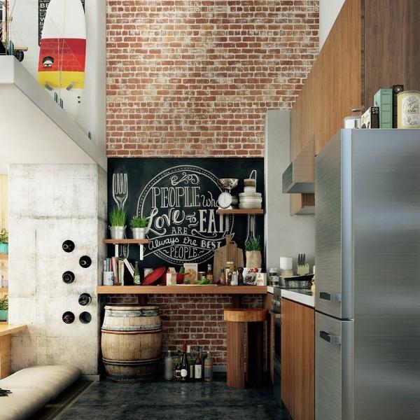Lo stile industriale e urbano dei loft per arredare la casa con stile - Siti design casa ...